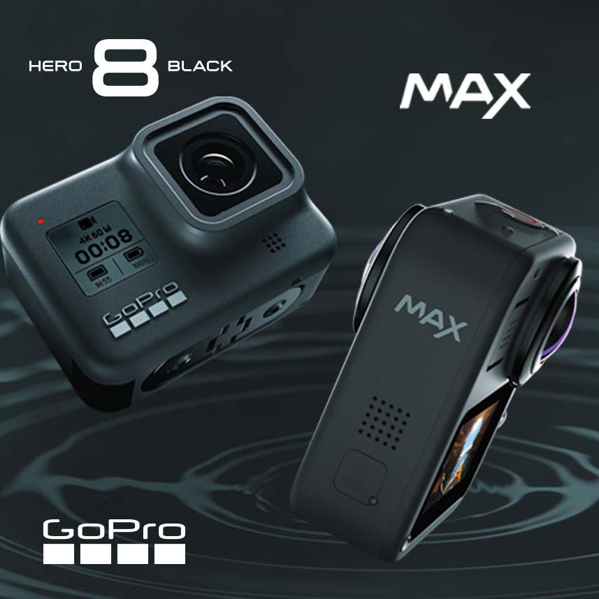 GoPro Hero 8 Black + MAX